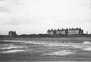 Beach and Porritt houses, North Promenade, St Annes on Sea c.1884