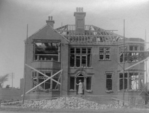 Construction of 1 Oxford Rd., St Anne's , 1912